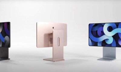 Este concepto imagina como serían los nuevos iMac basándose en el diseño de la Pro Display XDR y el iPad Pro