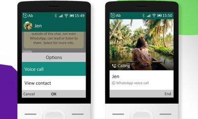 Las llamadas de WhatsApp llegan a los móviles básicos con KaiOS