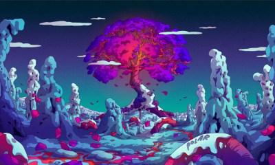 Si buscas el wallpaper perfecto echa un vistazo a la explosión de color en las ilustraciones de Camila Nogeuira