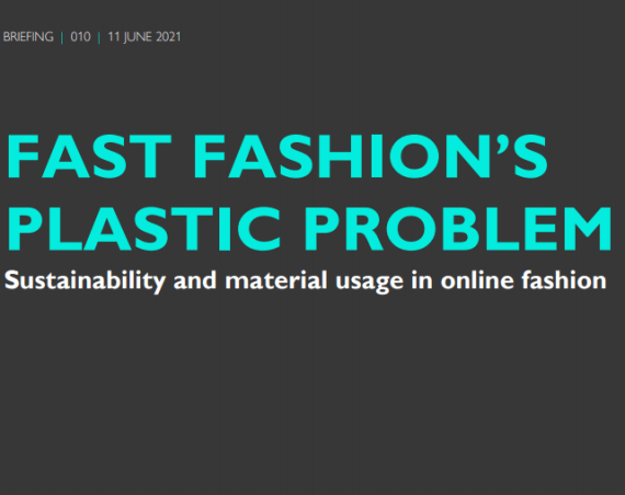 Fast fashion's failure to stay on trend: half of all pieces found to contain plastic