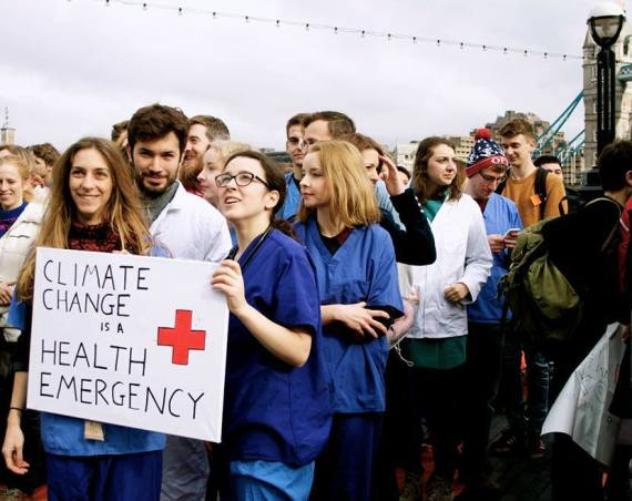 We're in a climate crisis – trust me I'm a doctor*