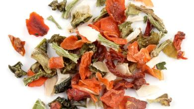 """Photo of Recipes for Dehydrated Vegetable Flakes or """"Sneaking Vegetables into Your Diet"""""""