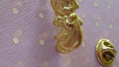 Photo of A Little Golden Angel Pin Inspiration