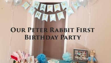 Photo of Our Peter Rabbit Birthday Party