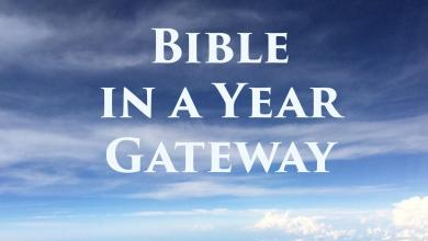Photo of Bible in a Year Gateway for the YouTube Bible in a Year Recordings – Links by Date