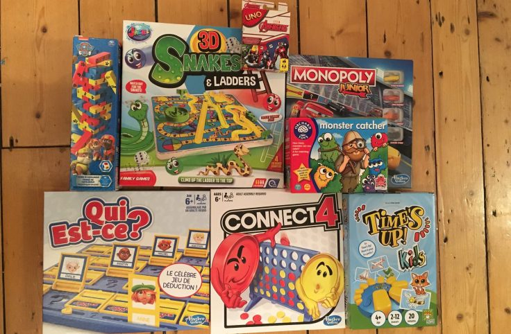 Cover board games - Our top nine family board games for young kids