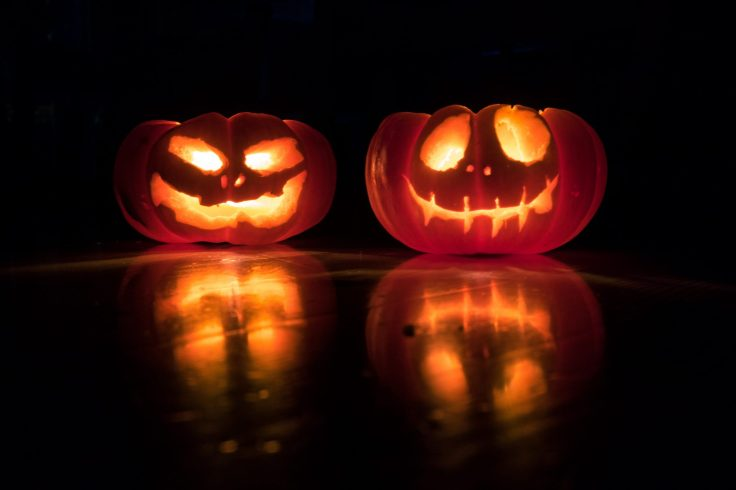 Halloween in London with Kids - pumpkins carved