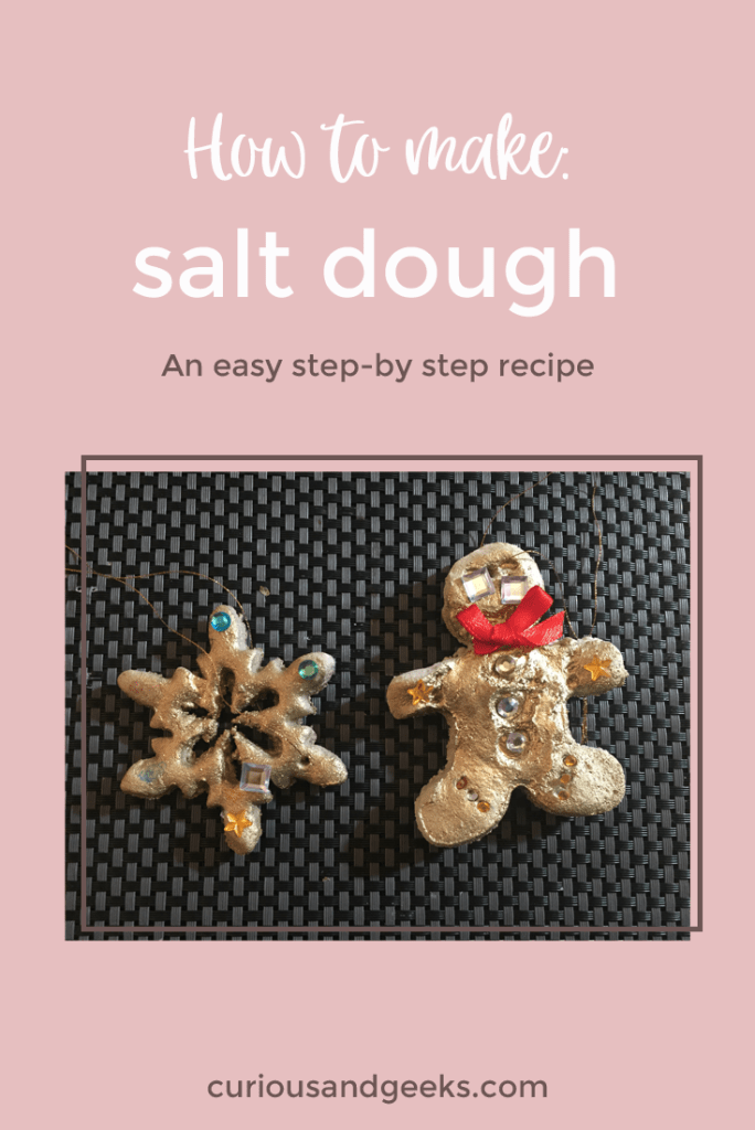 Check out this easy salt dough recipe and start crafting!