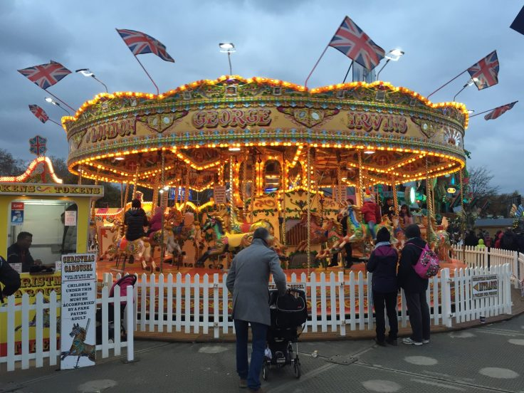 Winter Wonderland with kids - example of ride accepting contacless payment