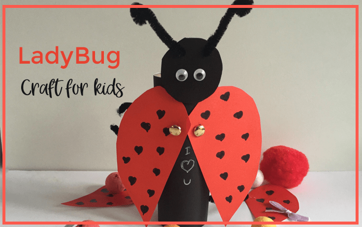 Ladybug craft for kids