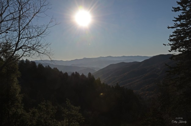 GSMNP Newfound Gap view