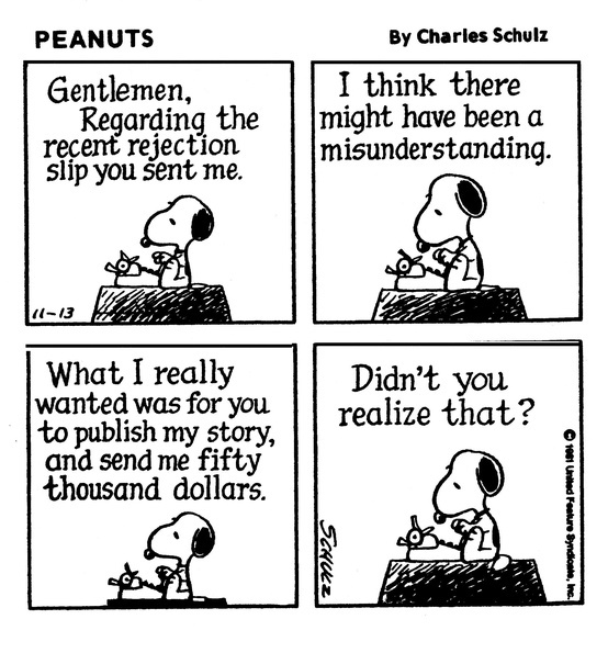 snoopy the writer2