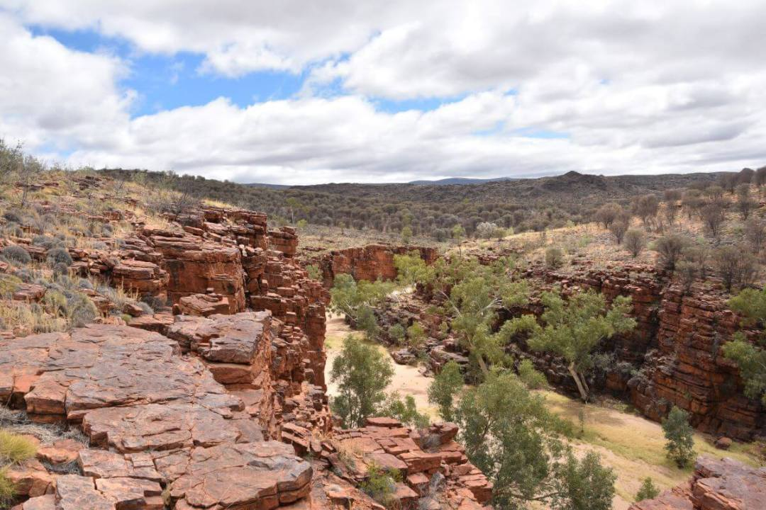 Trephina Gorge Walk East MacDonnell Ranges