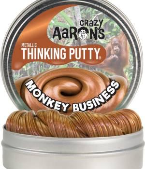 "Monkey Business Metallic Putty 4"" Tin"