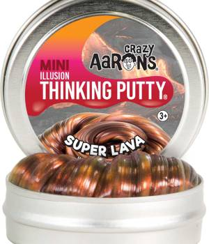 "Crazy Aaron's Super Lava Illusion Thinking Putty 2"" Tin"