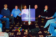 Physical mediumship séance, Stansted, England, 2012