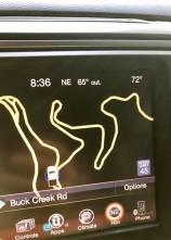 GPS Curvy Road