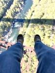 Curious Craig feet dangling