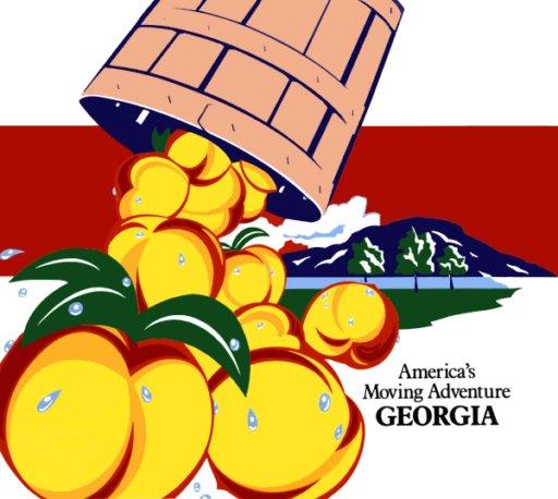 Georgia Supergraphic