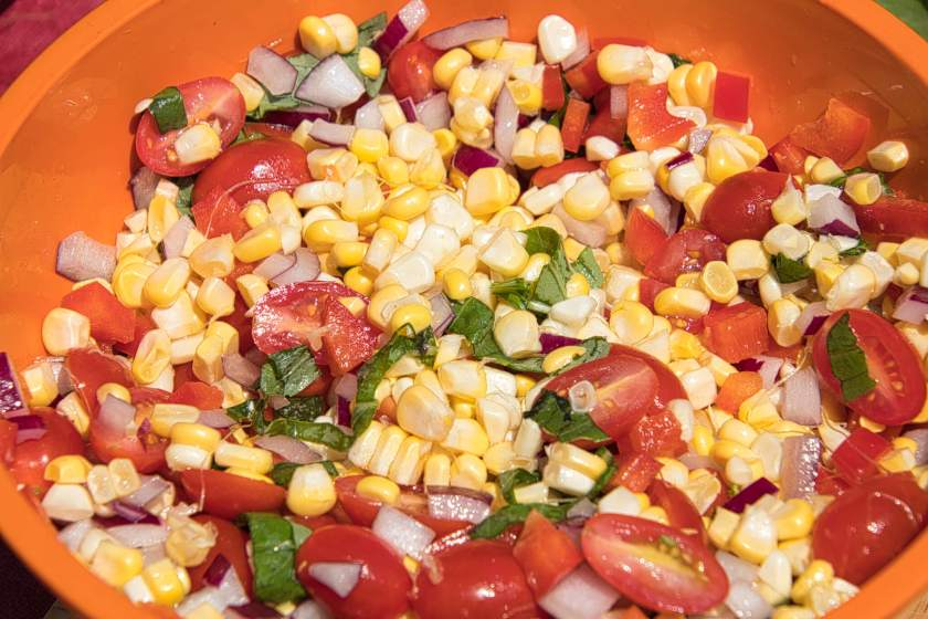 Curious Craig - Corn Salad Recipe