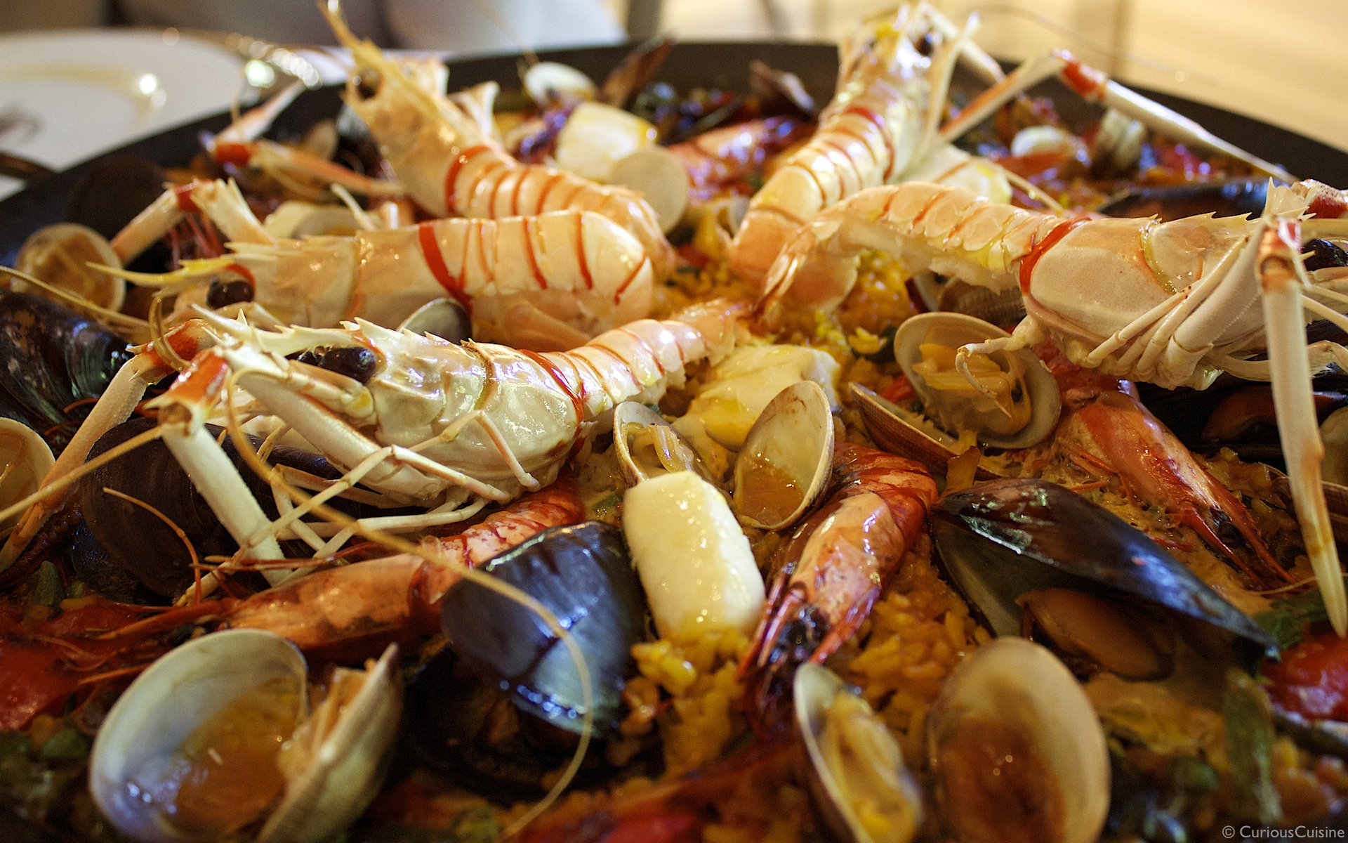 Showing Spanish food culture