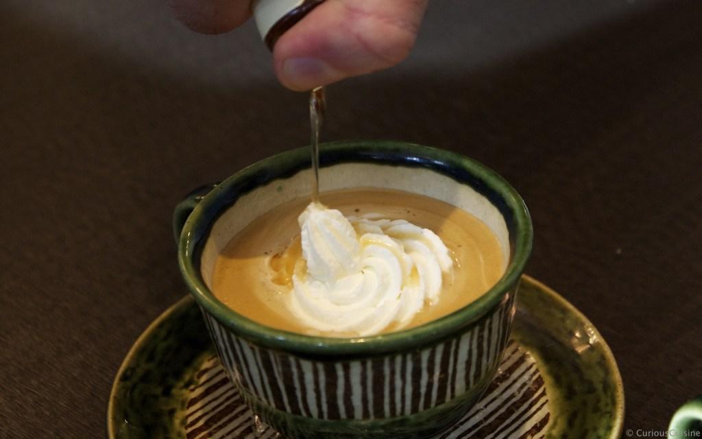 Biedermeier Kaffee – with whipped cream and apricot liquor