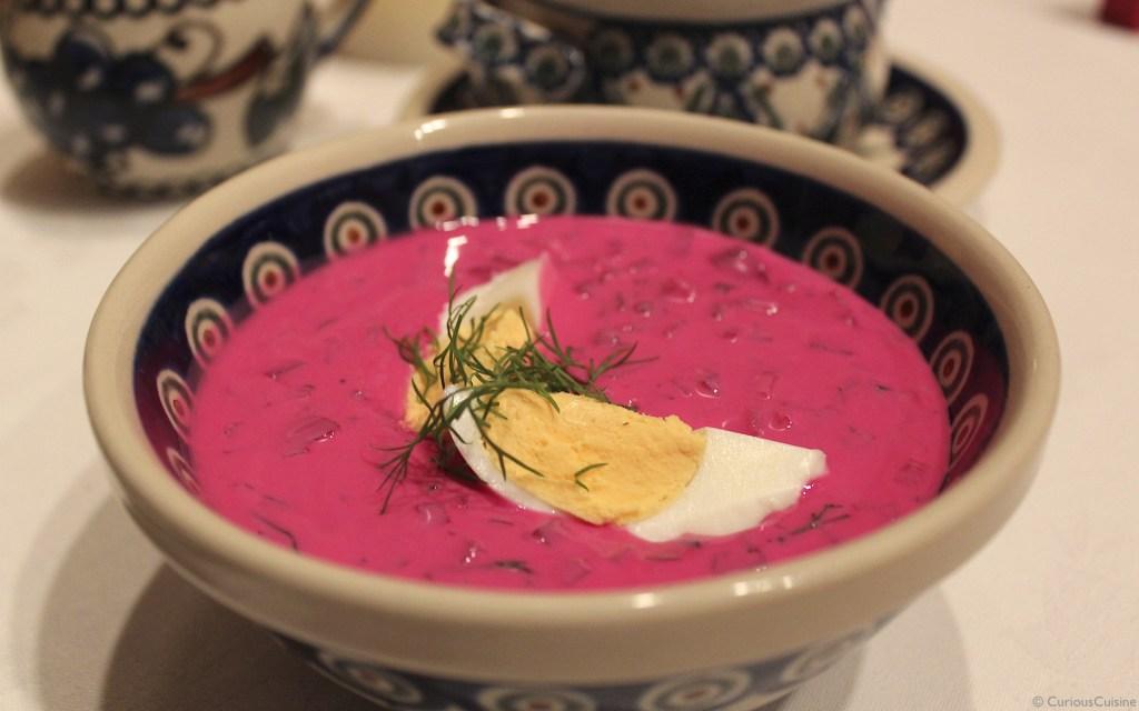 summer beet soup