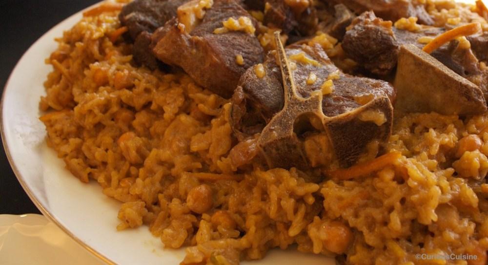 Showing Afghan food culture