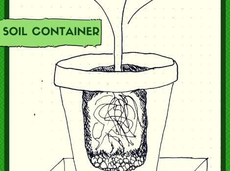 indoor gardening method - Soil Containers