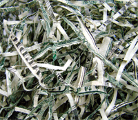 Shredded Currency