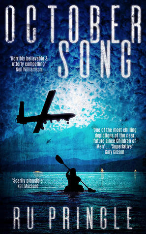 Book cover for October Song by Ru Pringle