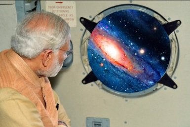 Photoshopping Creativity of Netizens. PM Modi does space travel.
