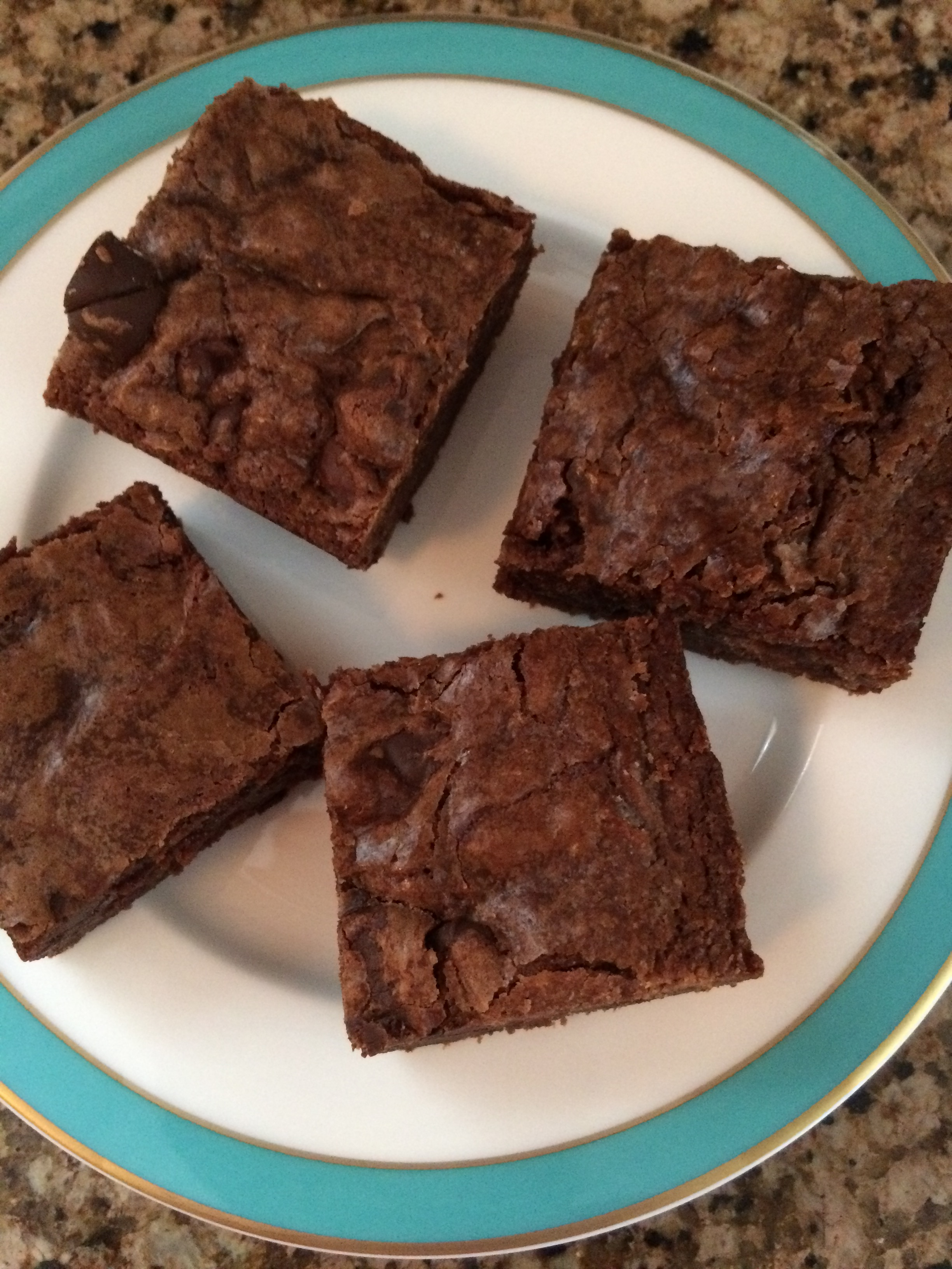 Nutella Topped Brownies One Bowl Nutella Fudge Brownies Curiouser Curiouser