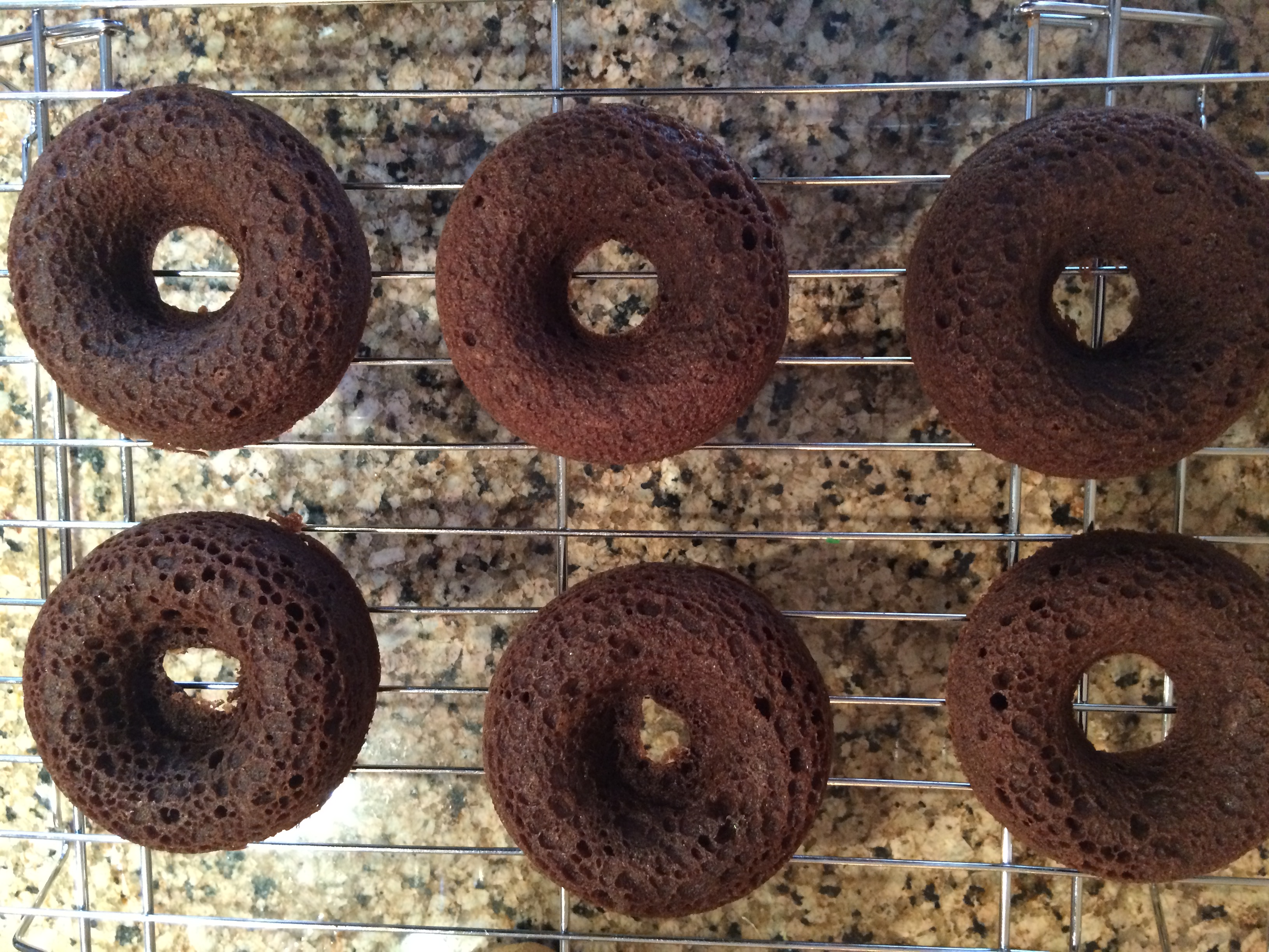Paleo Baked Chocolate Donuts With Chocolate Frosting And Sprinkles ...