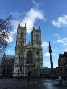 We stayed in the Westminster area, so we got to pass Westminster Abbey and Parliament and Big Ben every time we left our hotel. So lovely!