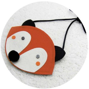 Cute shoulder bag or coin purse for that fox lover in your life!