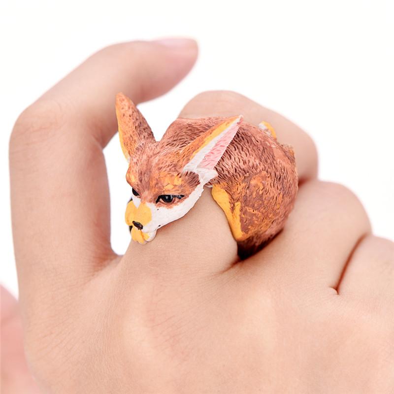 Chunky animal fox ring for the true fox lover! #foxaccessory #afflink