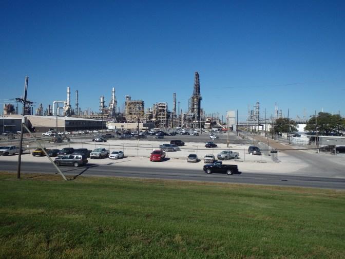 Refineries remind me of the apocalypse