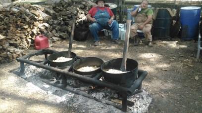 Cooking cracklins