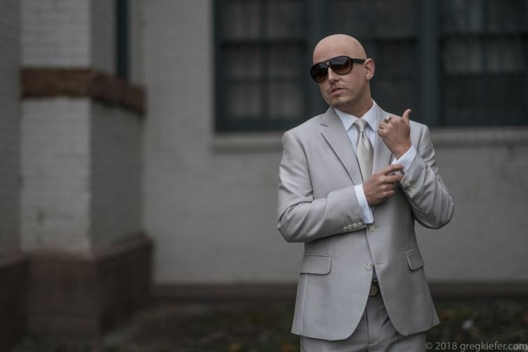 The famous Pitbull