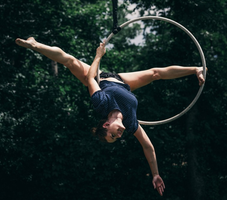 Heather McAlister - Aerialists of Nashville - Aerial Ring