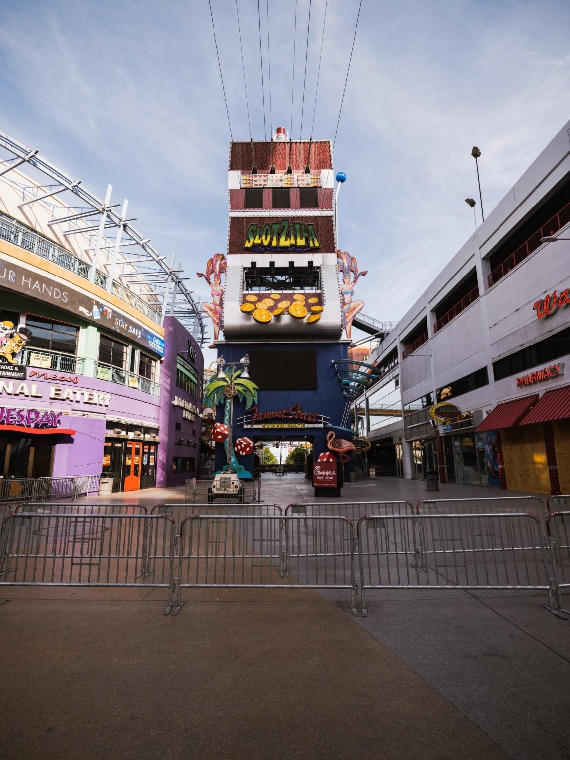 Las Vegas - Fremont St. - Covid