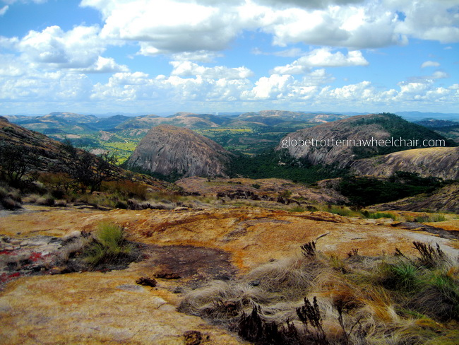 rolling hills in Zimbabwe