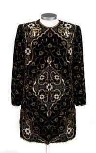 Beaded coat 'Suleyman'