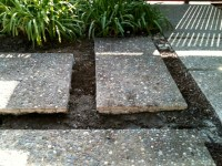 Broken to Beautiful  Salvaging a Cracked Concrete Patio ...