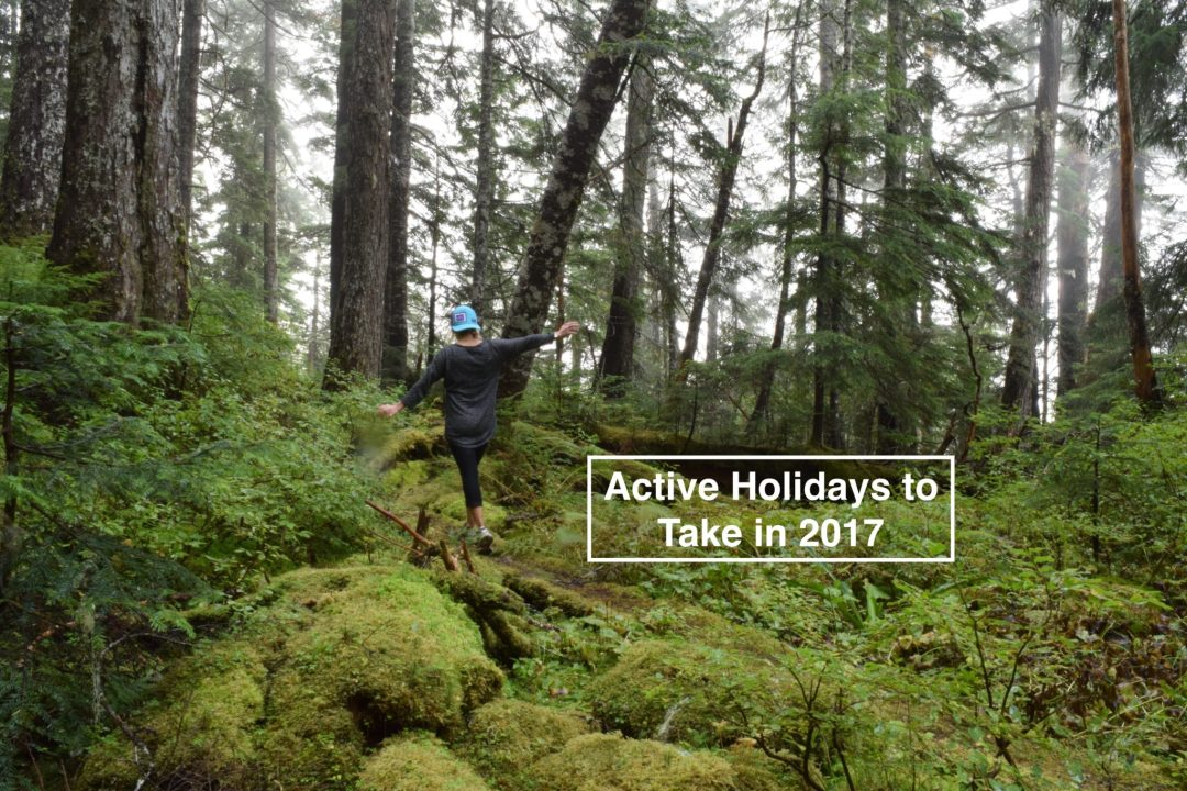 Active Holidays to Take in 2017 Blog post