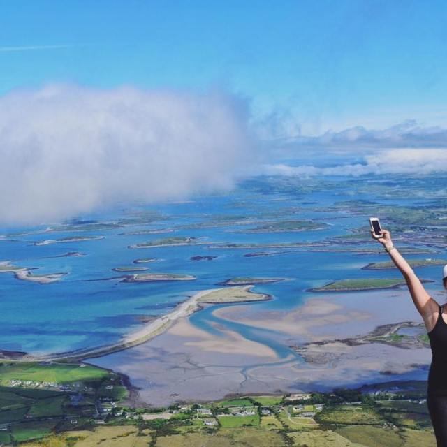 So much hiking yesterday and the sun was shining! Irelandhellip