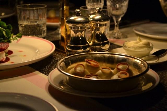 Bob Bob Ricard Truffled Potato and Porcini Vareniki