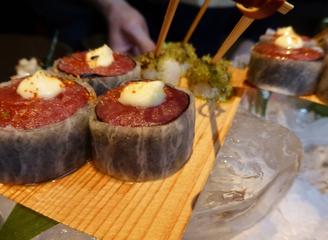 Roka Aldwych restaurant review Japanese sushi
