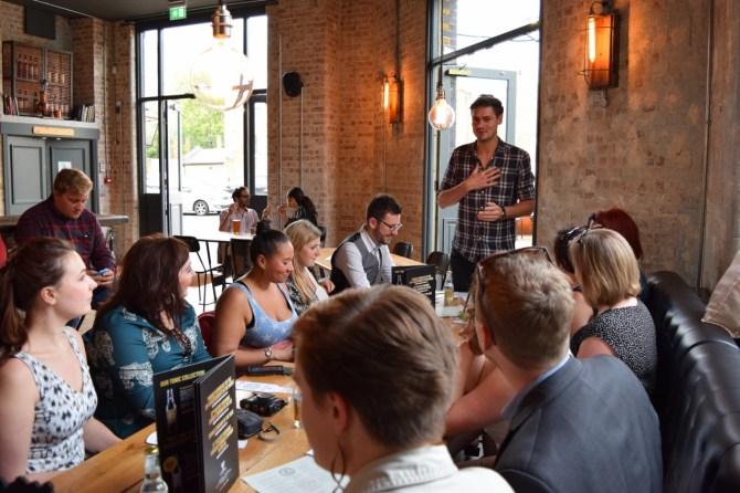 East London Liquor Company tour distillery bar review